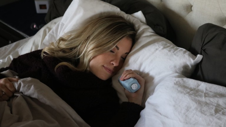 Sleep Rock Natural Sleeping Aid includes an internal heating element