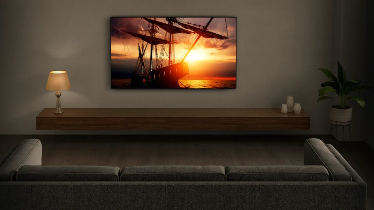 Sony XH95 4K LED TV has super slim bezels so you can watch from any angle