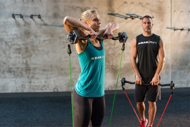 The XBAR|FLYT Portable Fitness System
