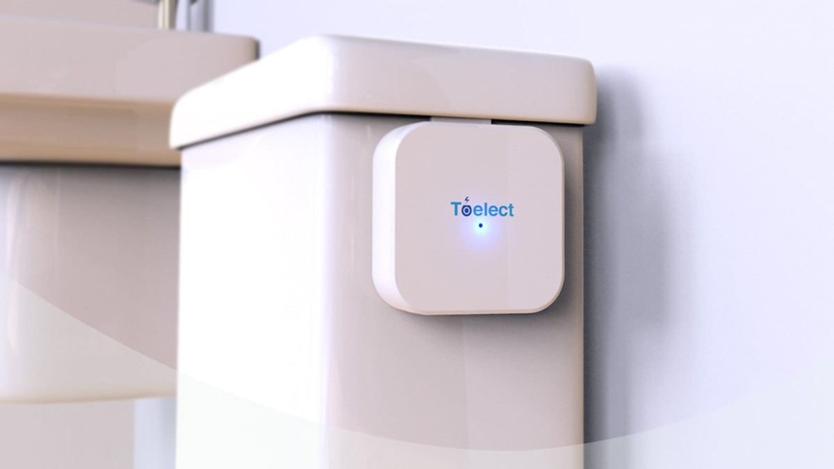 TOELECT Automated Toilet Bowl Cleaner doesn't use any chemicals
