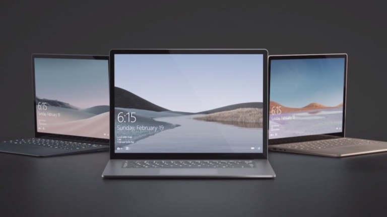 Microsoft Surface Laptop 3 Fast-Charging Computer