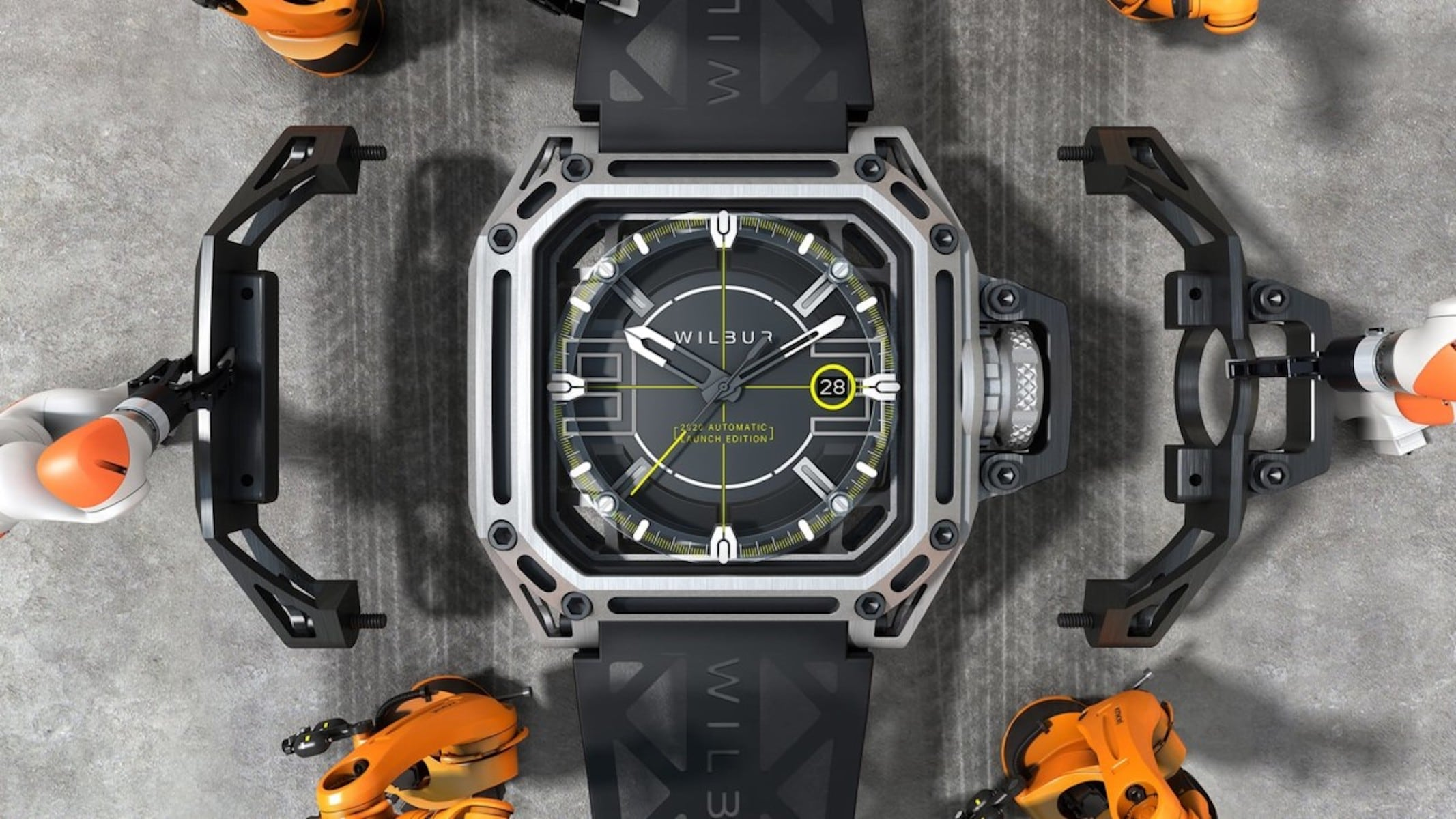 This limited edition watch focuses on the future, just like you