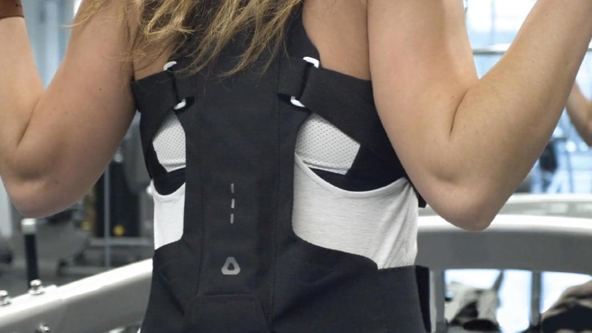 flexible exospine back support