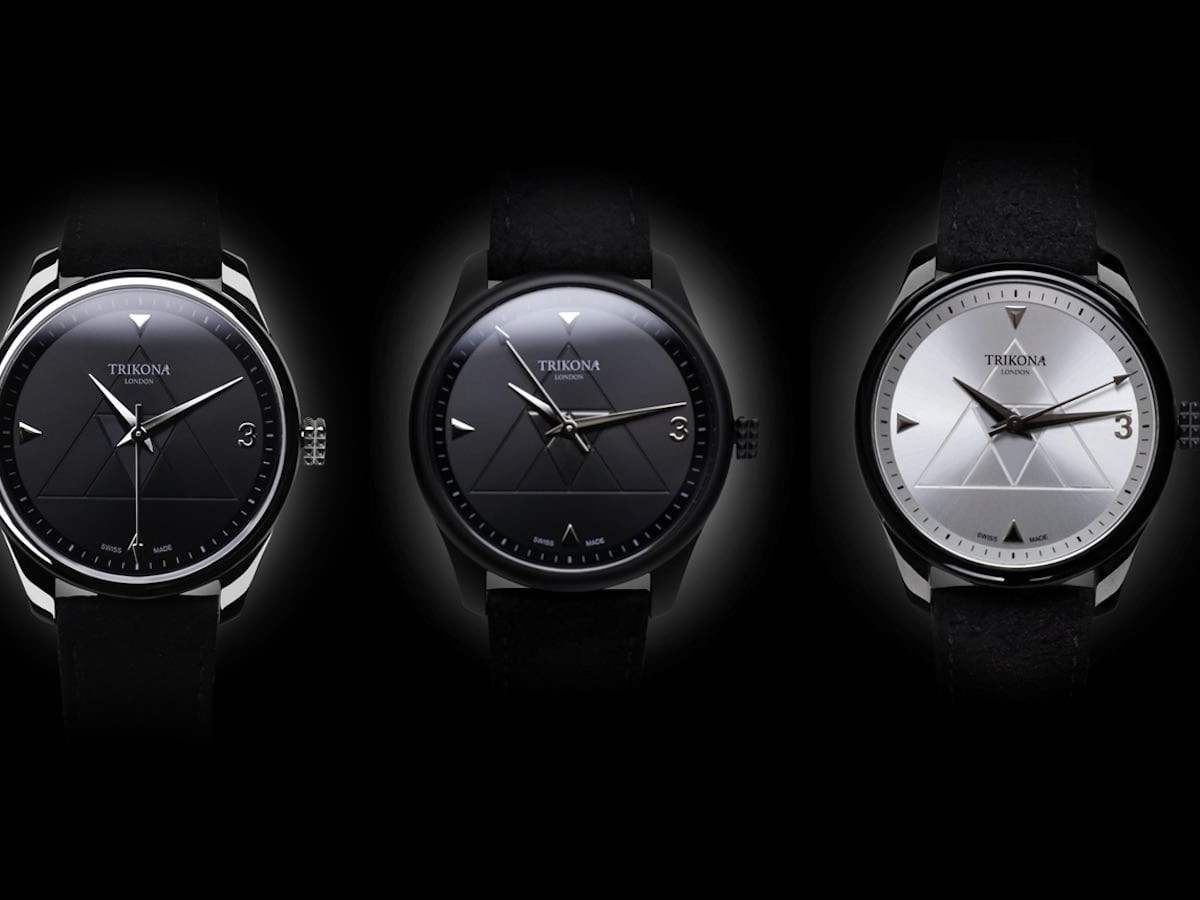 Trikona London Swiss-Made Warrior Watch features six different models