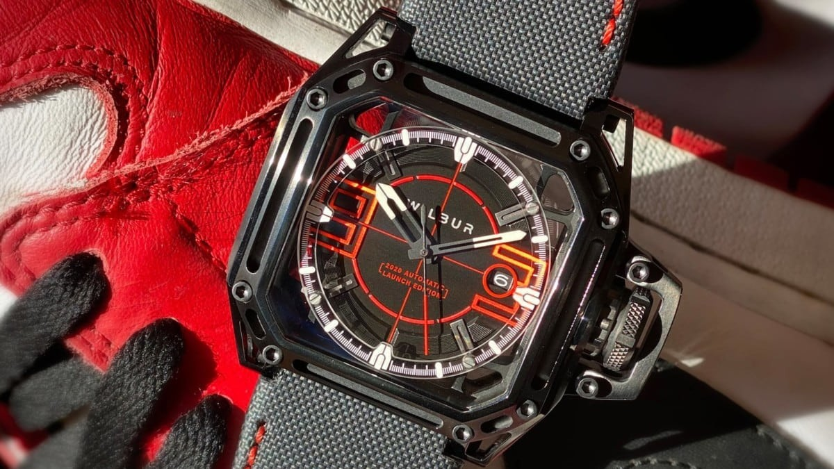 Watches created by an award-winning designer