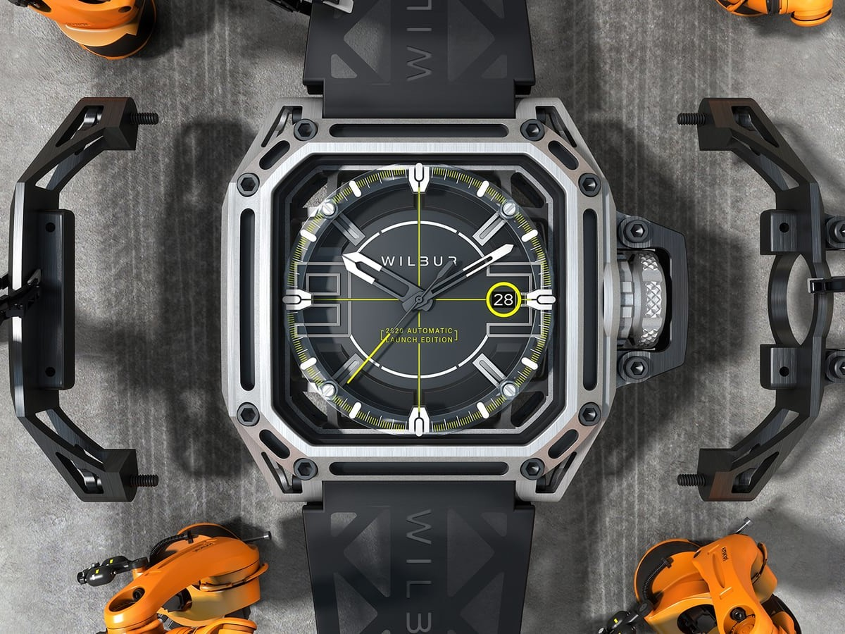 Wilbur Limited-Edition Watches merge art and science