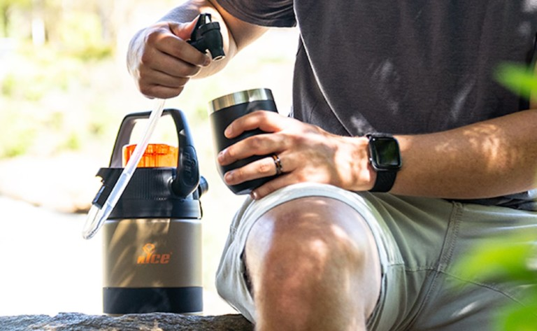 nICE Coolers Pump2Pour Carbonated Beverage Transporter
