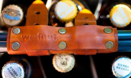 Walnut Studio 6-Pack Frame Cinch Bicycle Beer Carrier