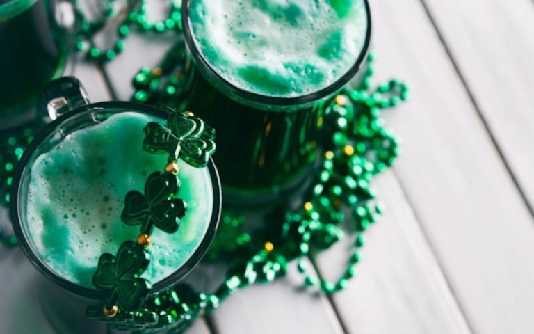 You need these awesome St. Patrick's Day beer accessories