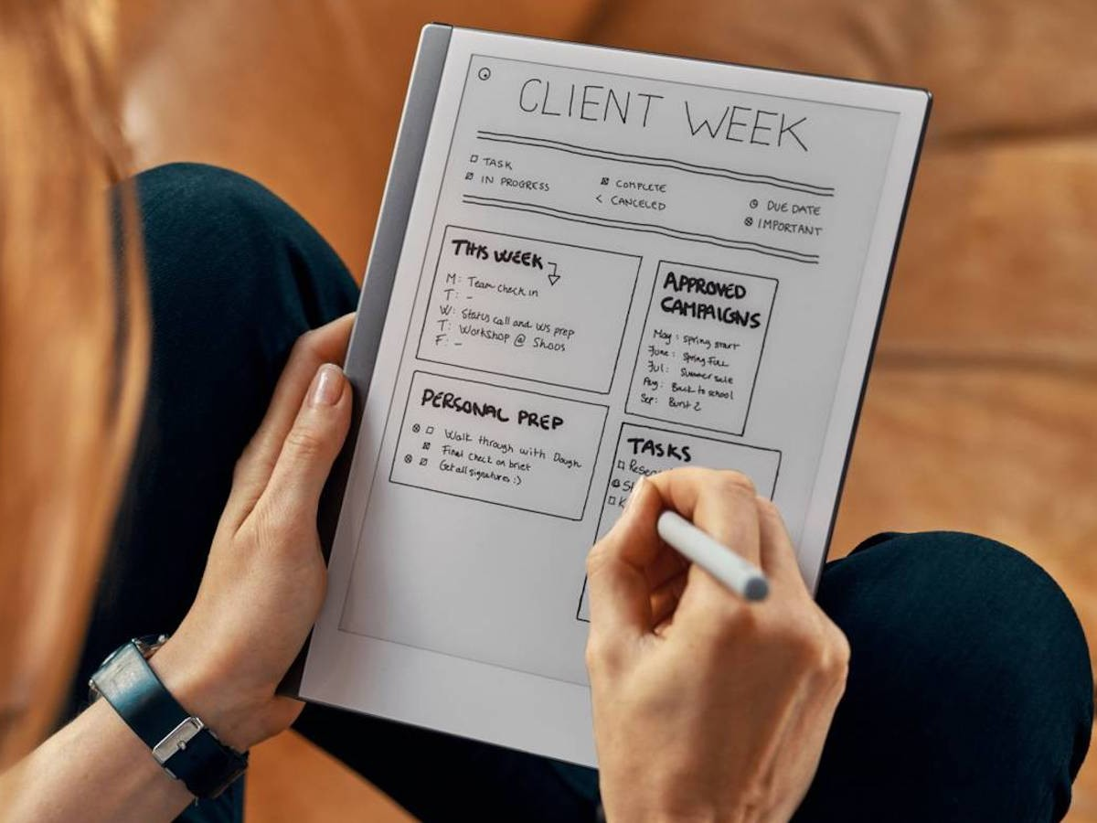 reMarkable 2 Paper Tablet replaces your digital notebooks and piles of paper