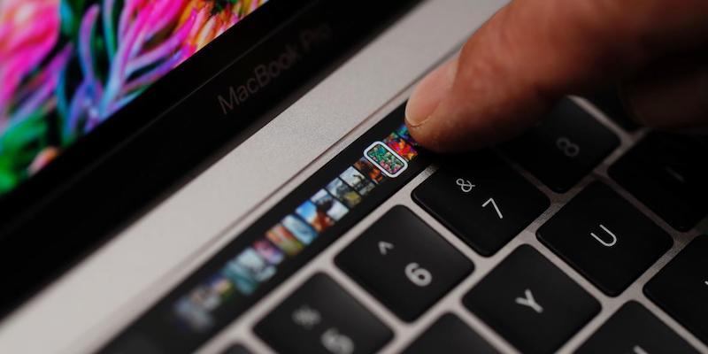 Apple's MacBook Pro Keypad