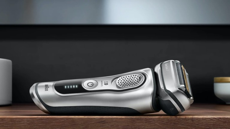 Braun Series 9 Electric Shavers work for a month on a single charge
