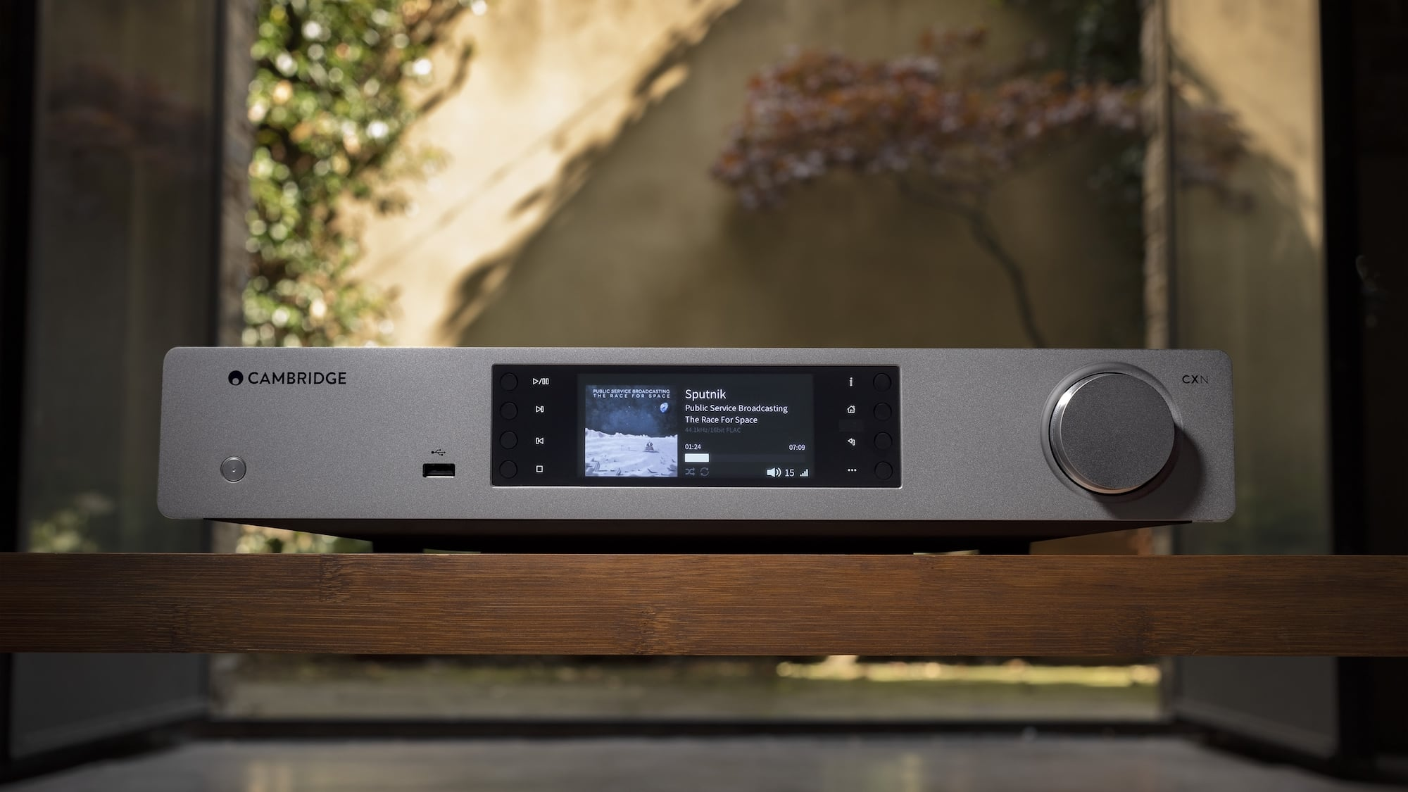 Cambridge Audio CXN V2 Network Audio Streamer works wirelessly with AirPlay 2 and Chromecast