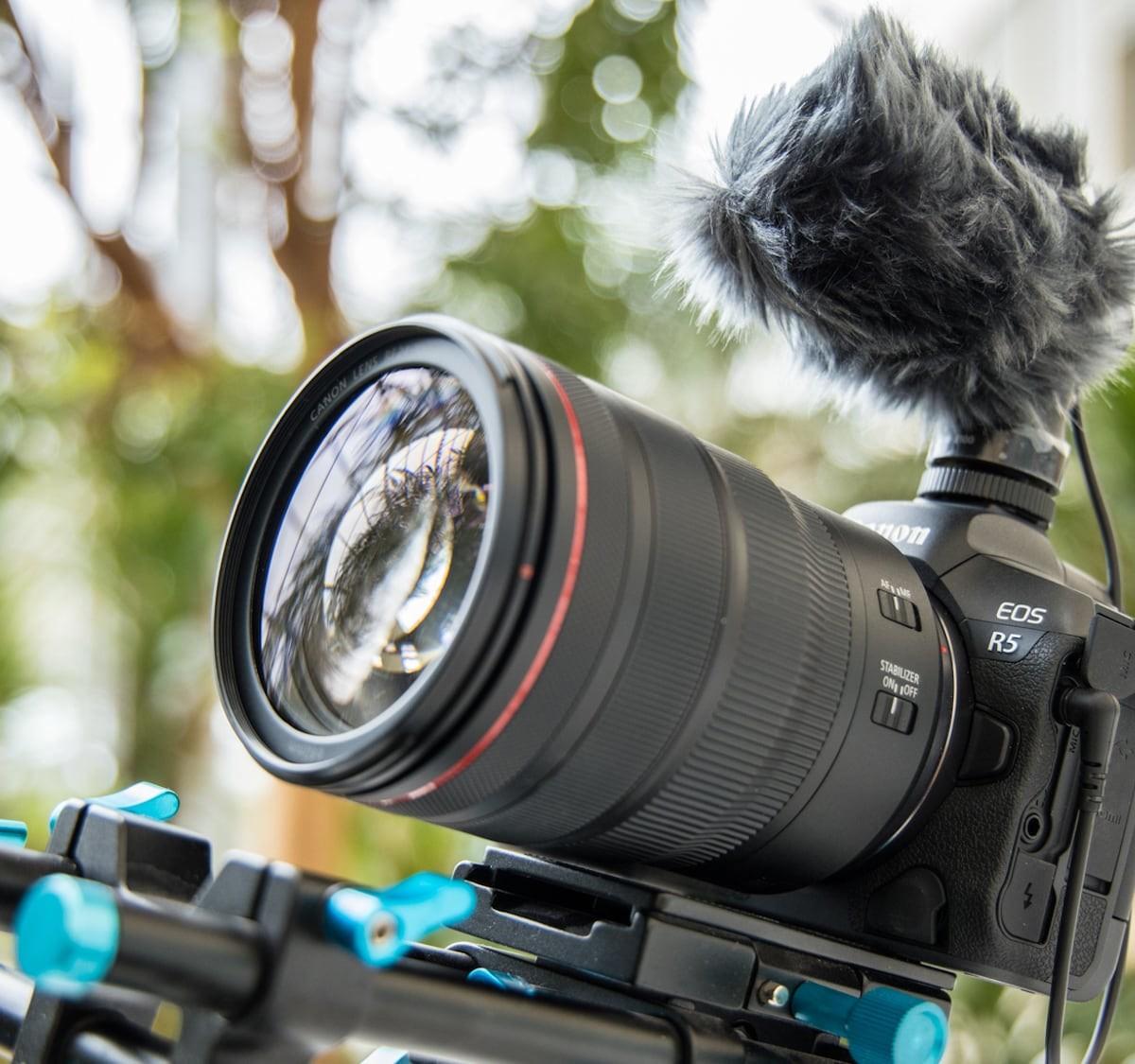 Canon EOS R5 Professional Mirrorless Camera offers 8K RAW internal video recording