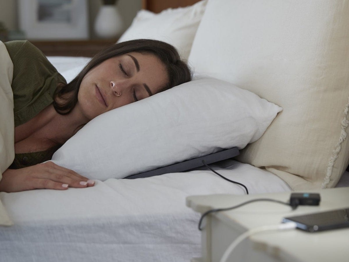 Dreampad Connected Pillows help you fall asleep faster and stay asleep longer