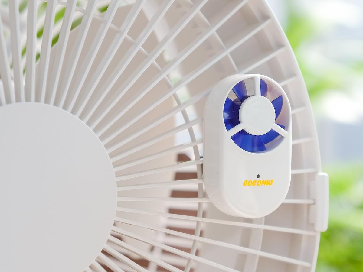 Fanionizer Wind-Driven Ionizer eliminates foul odors in minutes