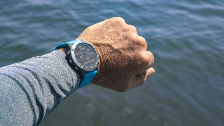 Garmin quatix 6 Series Multisport GPS Smartwatch lets you control your boat from your wrist
