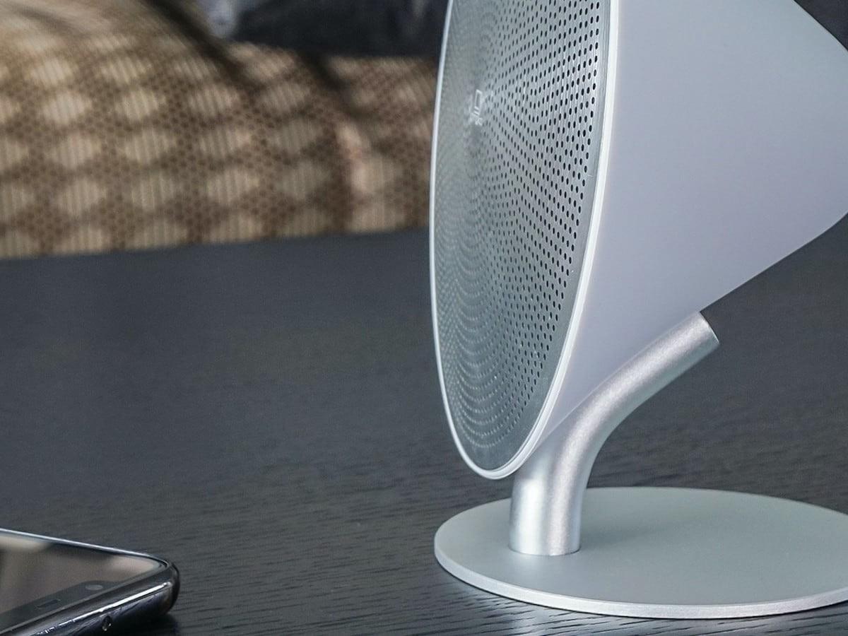 Gingko Electronics Mini Halo One Aesthetic Speaker has a uniquely modern shape