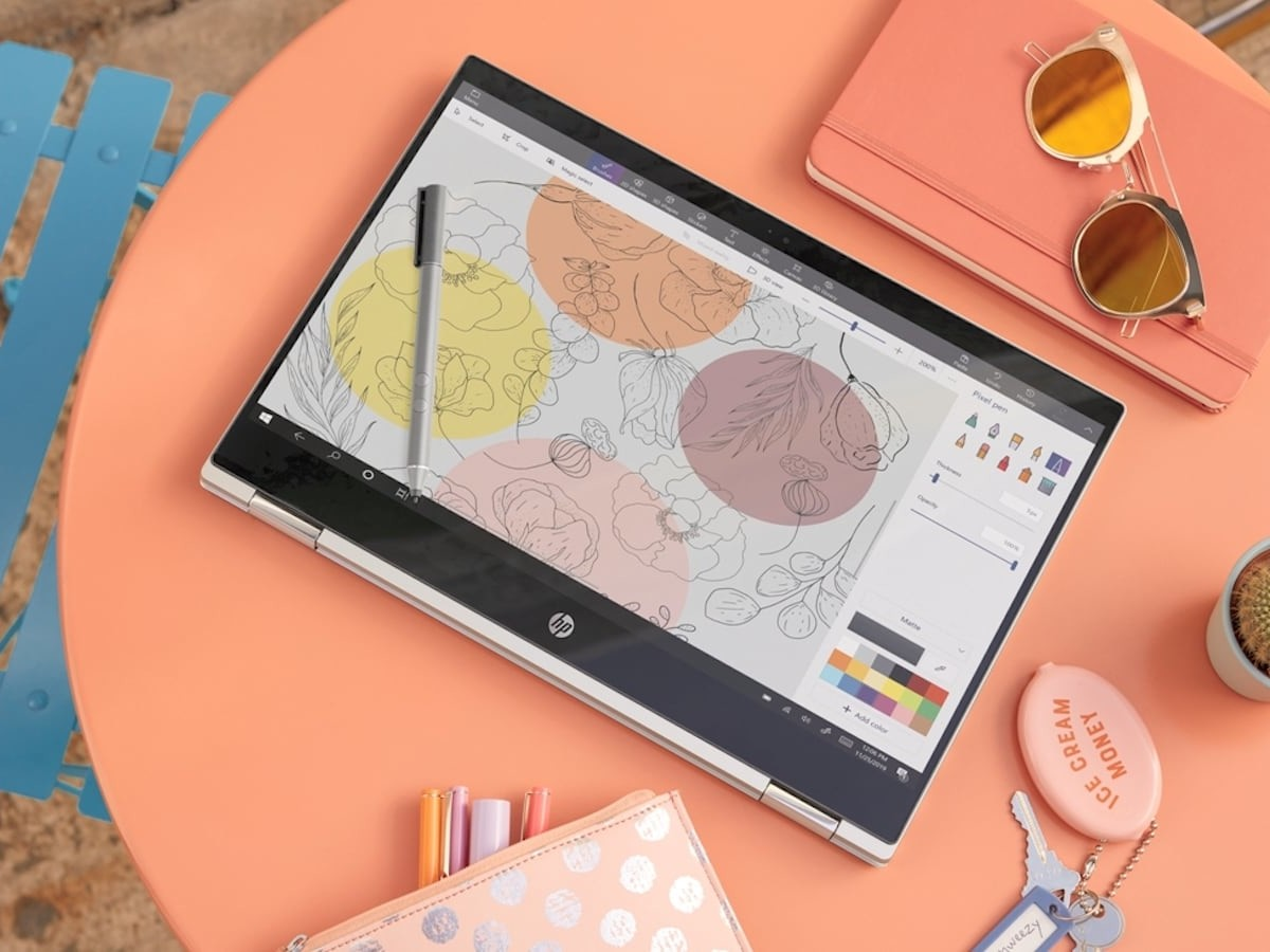 HP Pavilion x360 14 Series Convertible PCs let you work however and wherever you want