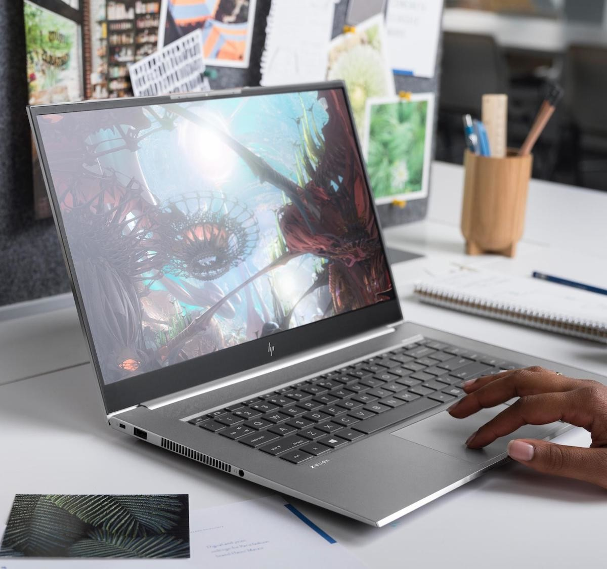 HP ZBook Studio G7 Mobile Workstation lets you design, render, and simulate in real time