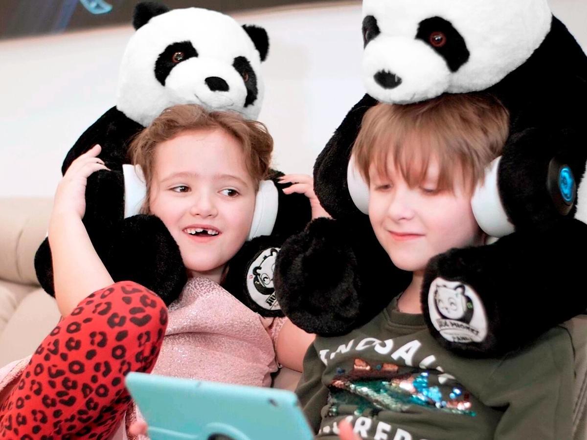 HugPhones Cutest Hugging Headphones help comfort children