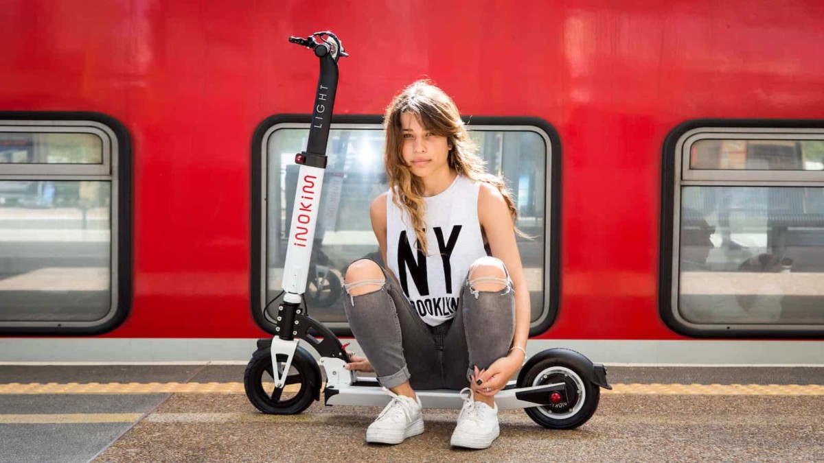 INOKIM Light 2 lightweight scooter offers portability and high performance