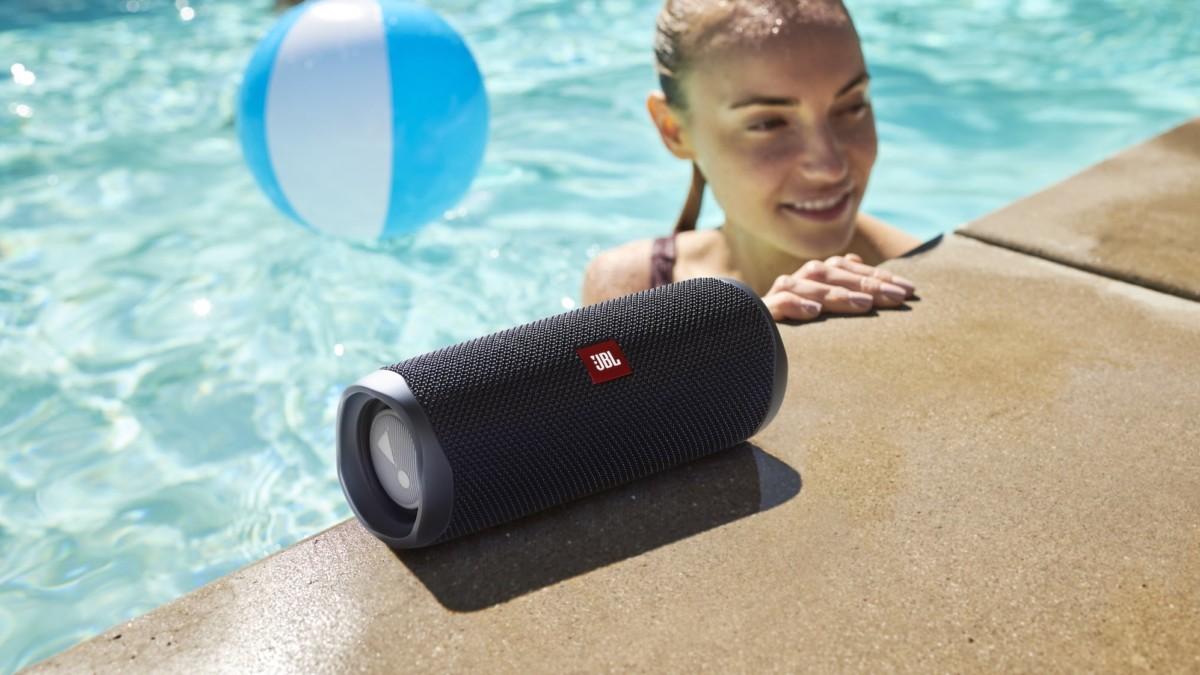 JBL Flip 5 Waterproof Portable Speaker comes in 12 vibrant color options