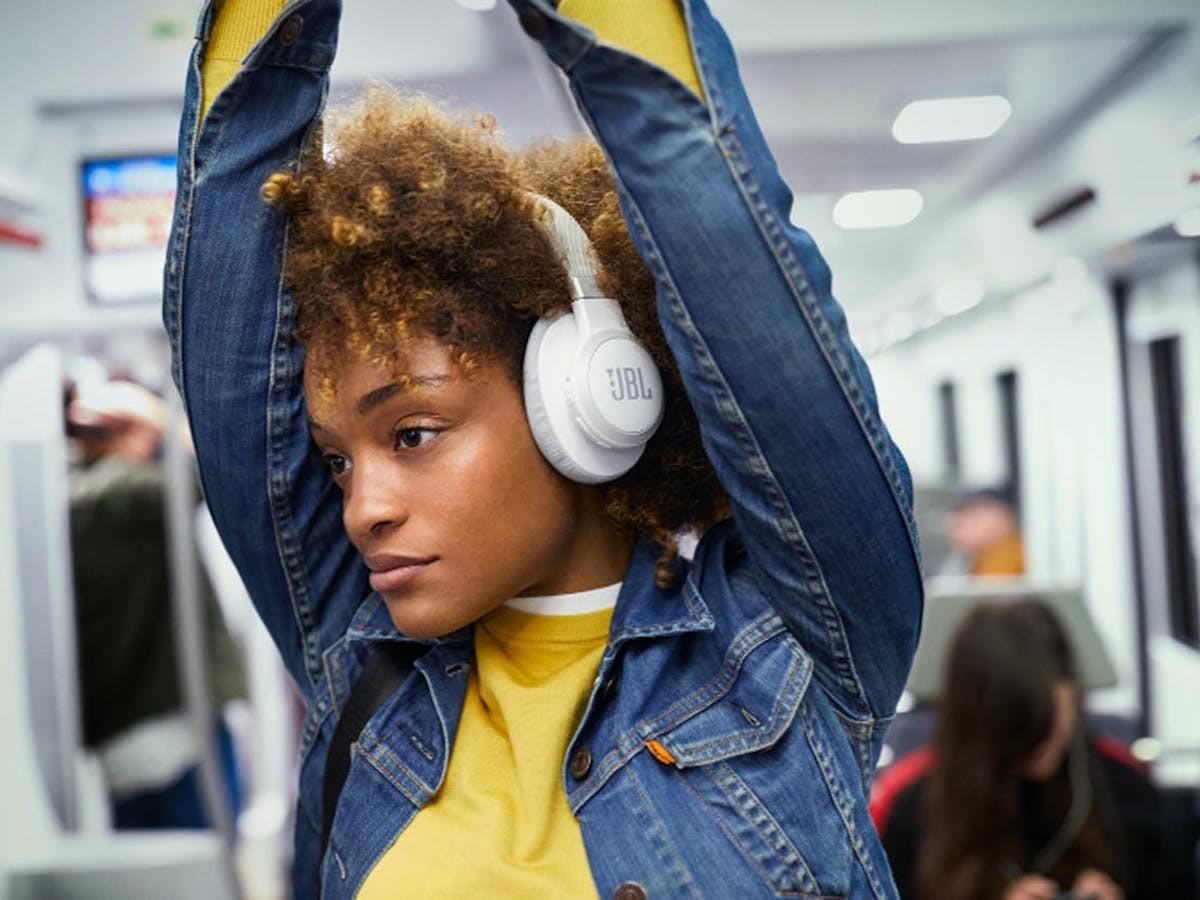 JBL LIVE 650BTNC Wireless Hands-Free Headphones respond to Alexa voice commands