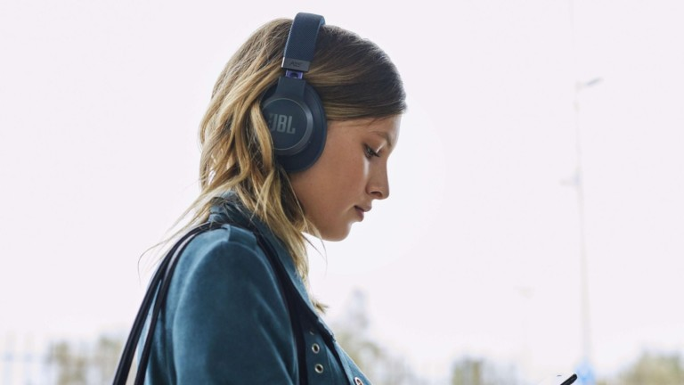 JBL LIVE 650BTNC wireless hands-free headphones respond to Amazon Alexa voice commands