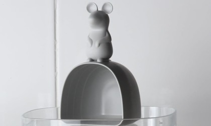 Lucky Mouse Rice Container and Scoop