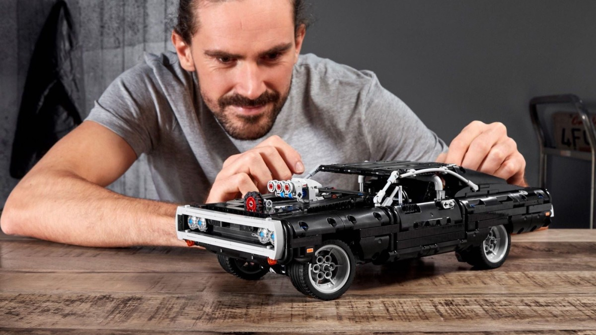 LEGO Technic Dom's Dodge Charger Iconic Building Set is for fans of Fast & Furious
