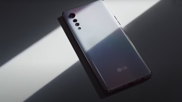 LG VELVET Elegant Smartphone has a teardrop rear camera setup
