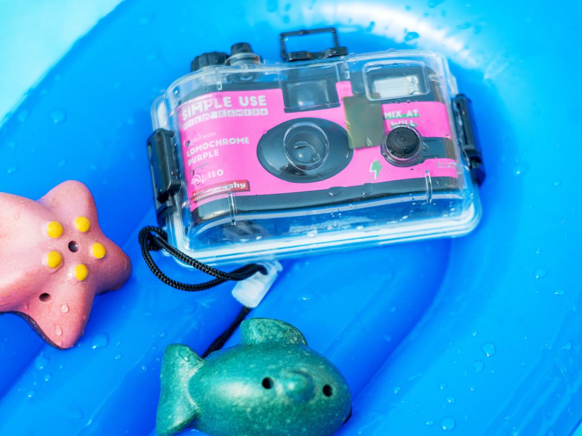 Lomography Analogue Aqua Reloadable Camera lets you get those classic film shots