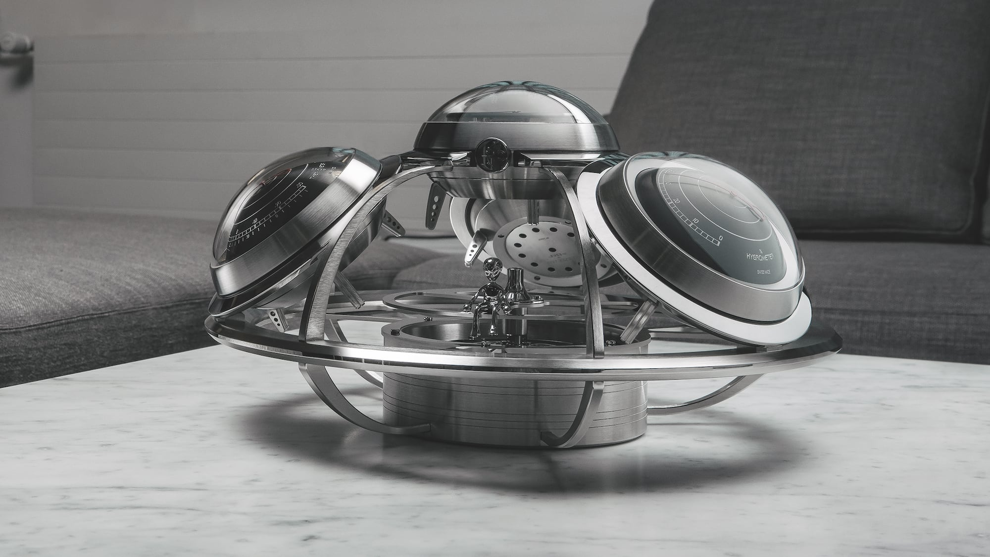 MB&F + L'Epée 1839 The Fifth Element Intergalactic Horological Weather Station