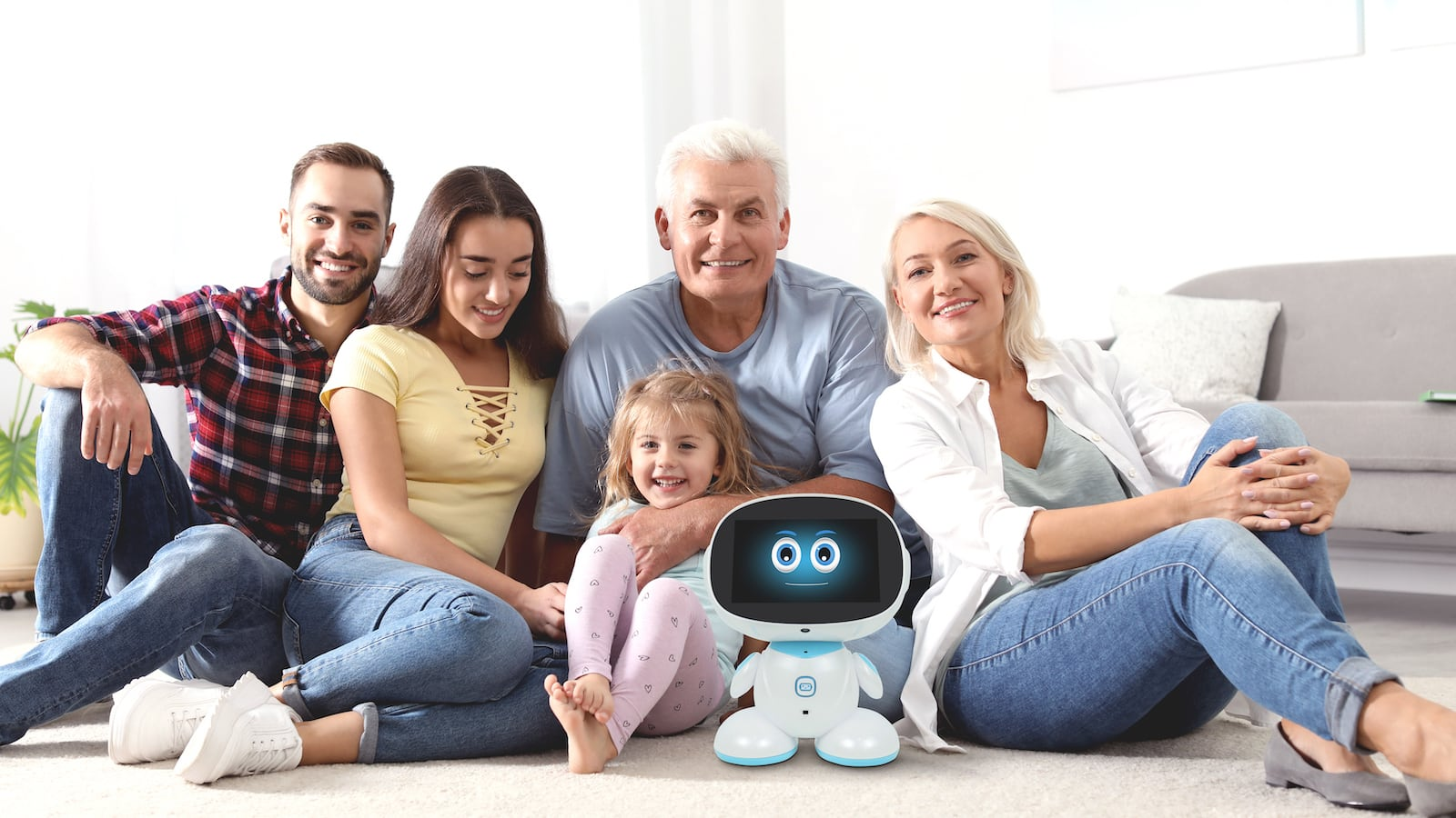 Misa Next Generation Social Family Robot is your family's new companion