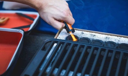 Fire & Flavor HERO Grill Portable Cooking Station