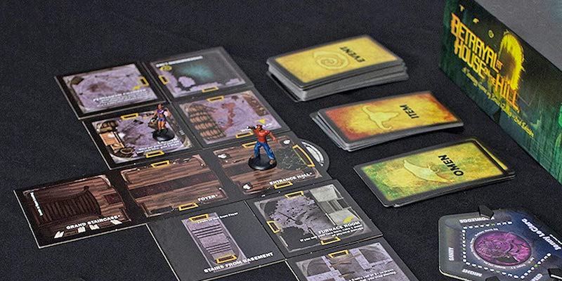Betrayal at House on the Hill Haunted House Board Game
