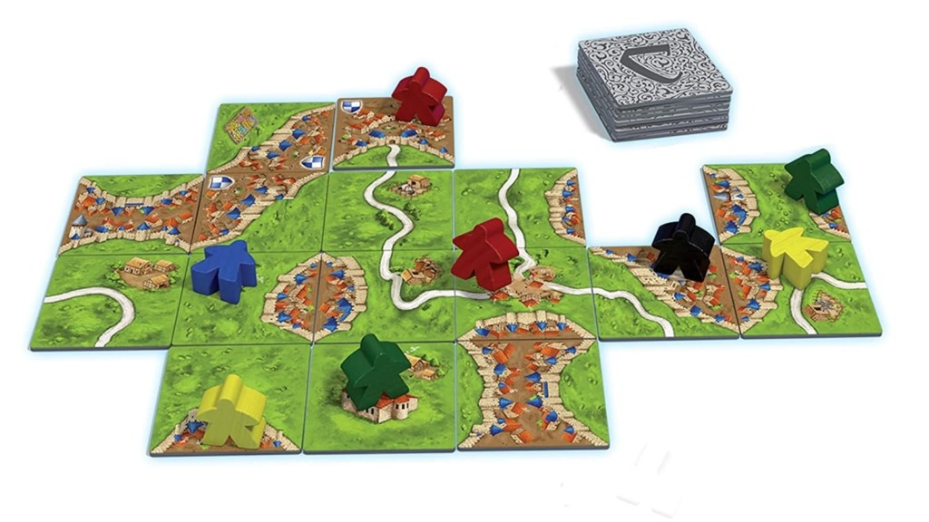 Carcassonne Medieval City Building Game