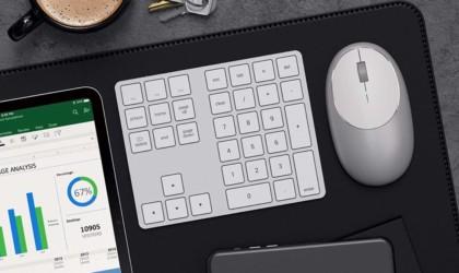 Satechi Bluetooth Extended Keypad Sleek Keyboard
