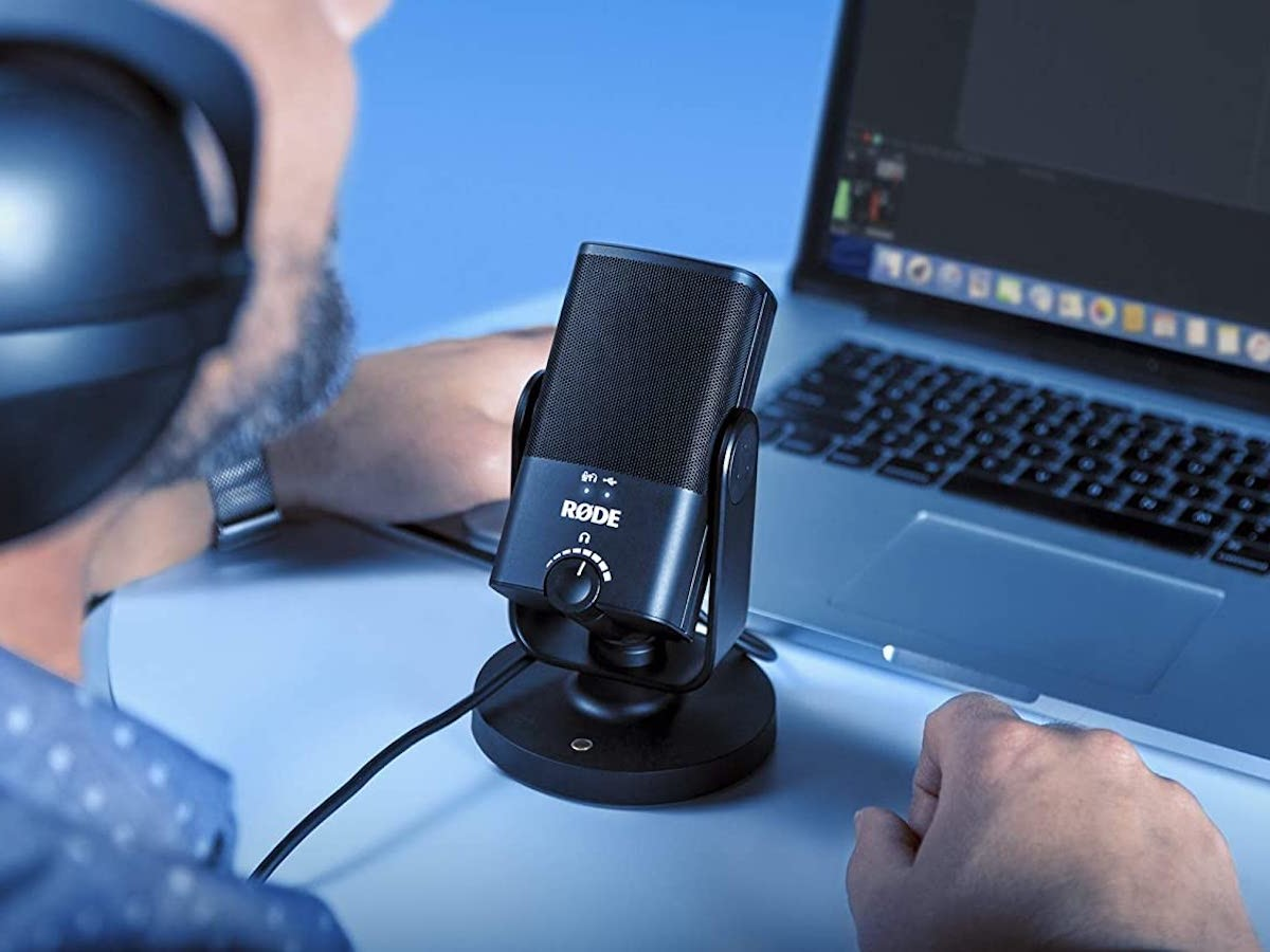RØDE Microphones NT-USB Mini USB Microphone offers a high-quality condenser capsule