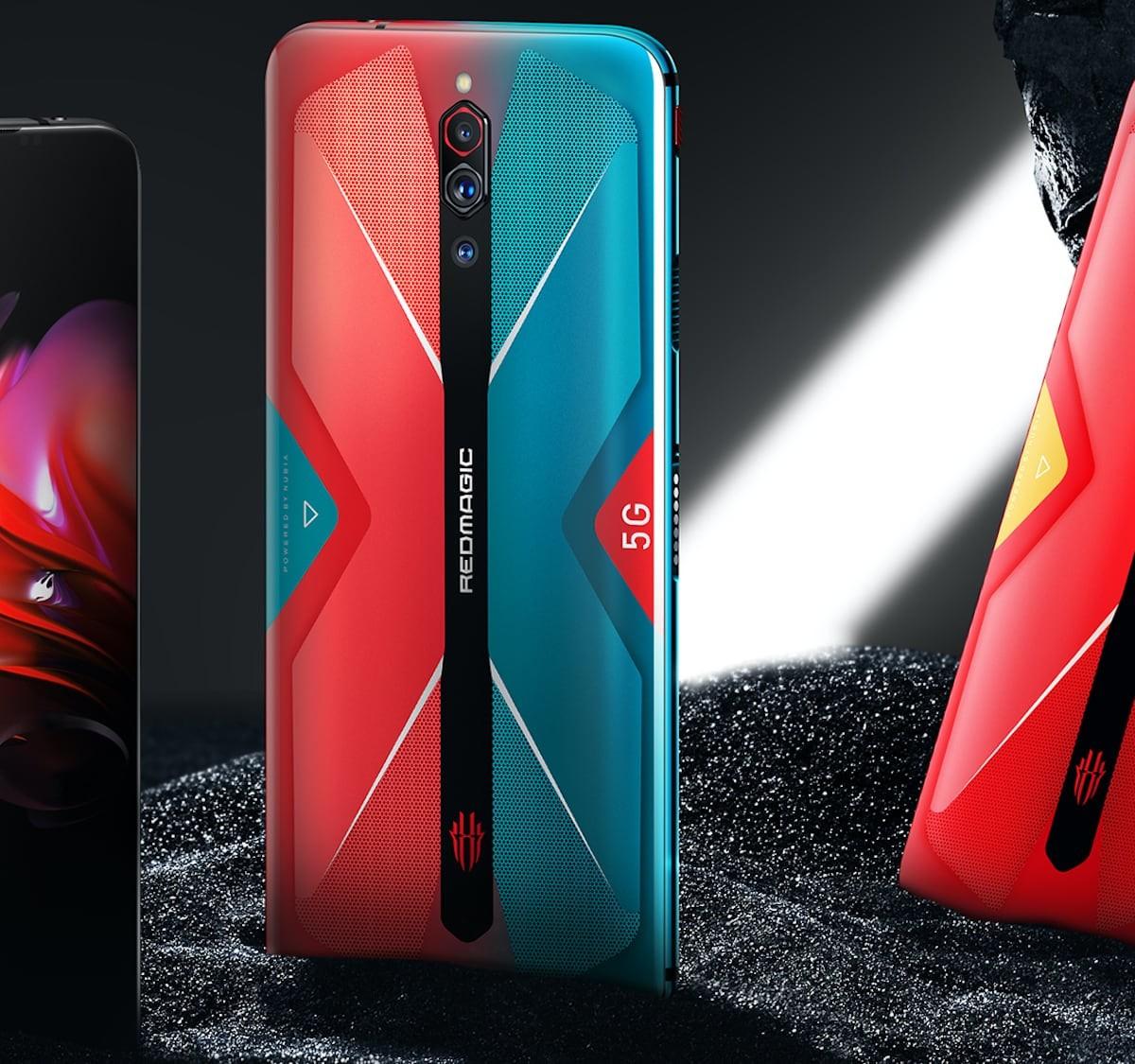 RedMagic 5G Triple Camera Gaming Smartphone has a super fast 144Hz refresh rate