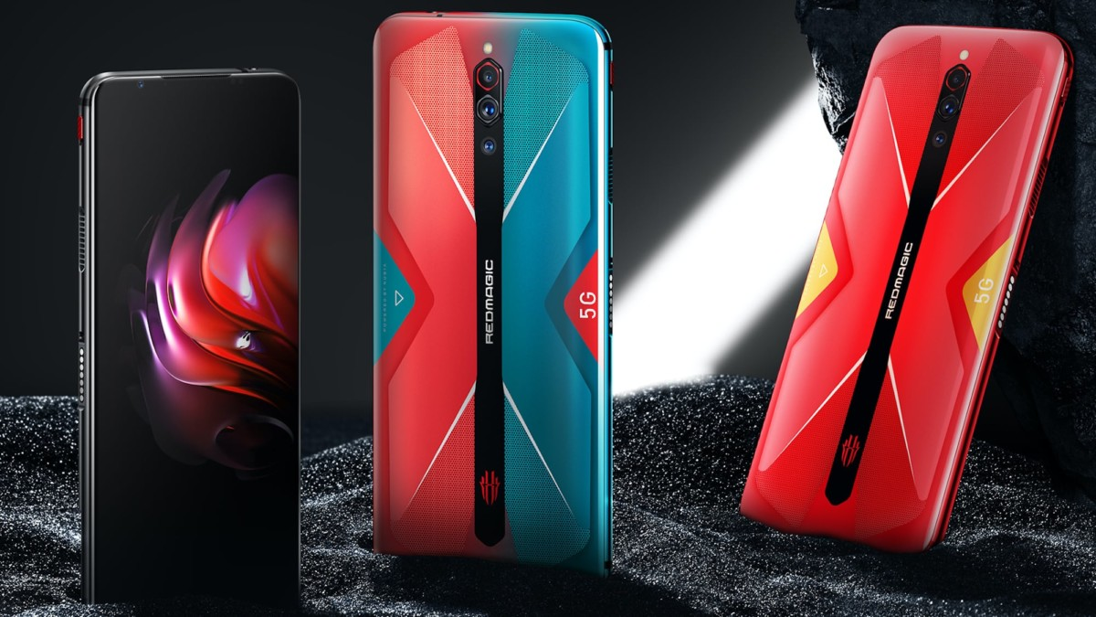 RedMagic 5G Triple Camera Gaming Smartphone has a super fast 144Hz refresh rate