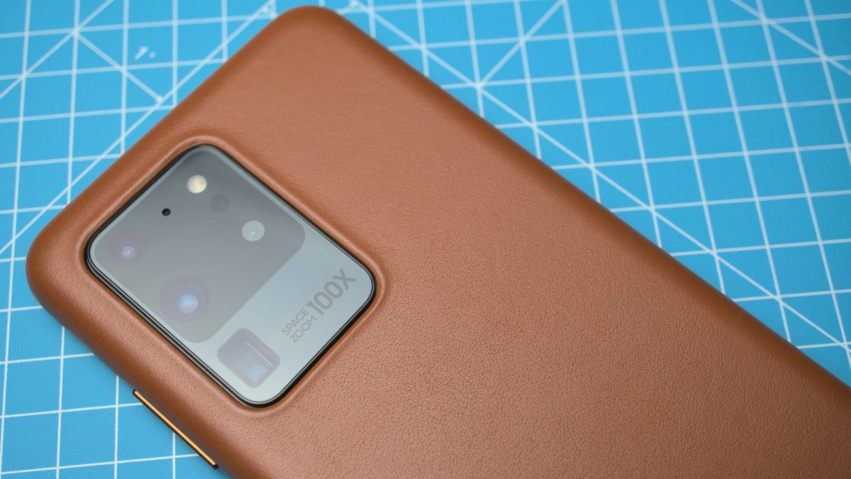 Samsung Leather Cover Luxurious Galaxy S20 Series Case is soft and sleek