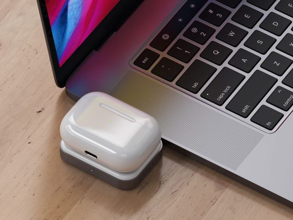 Satechi USB-C Compact Wireless Charging Dock powers up your AirPods and AirPods Pro