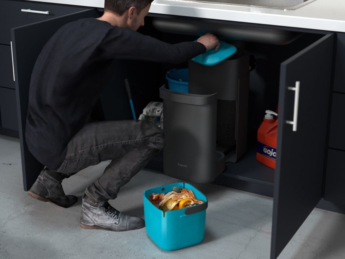 Sepura Home food waste device replaces your garbage disposal