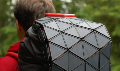 The North Face SunUp Solar Backpack