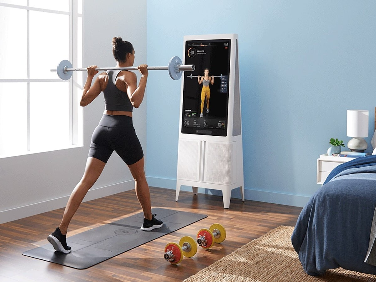 Tempo Studio AI Home Gym comes with all the equipment you need