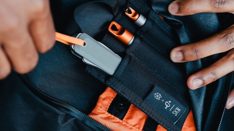 The James Brand & Carryology The Rover Capsule EDC Kit contains on-the-go essentials
