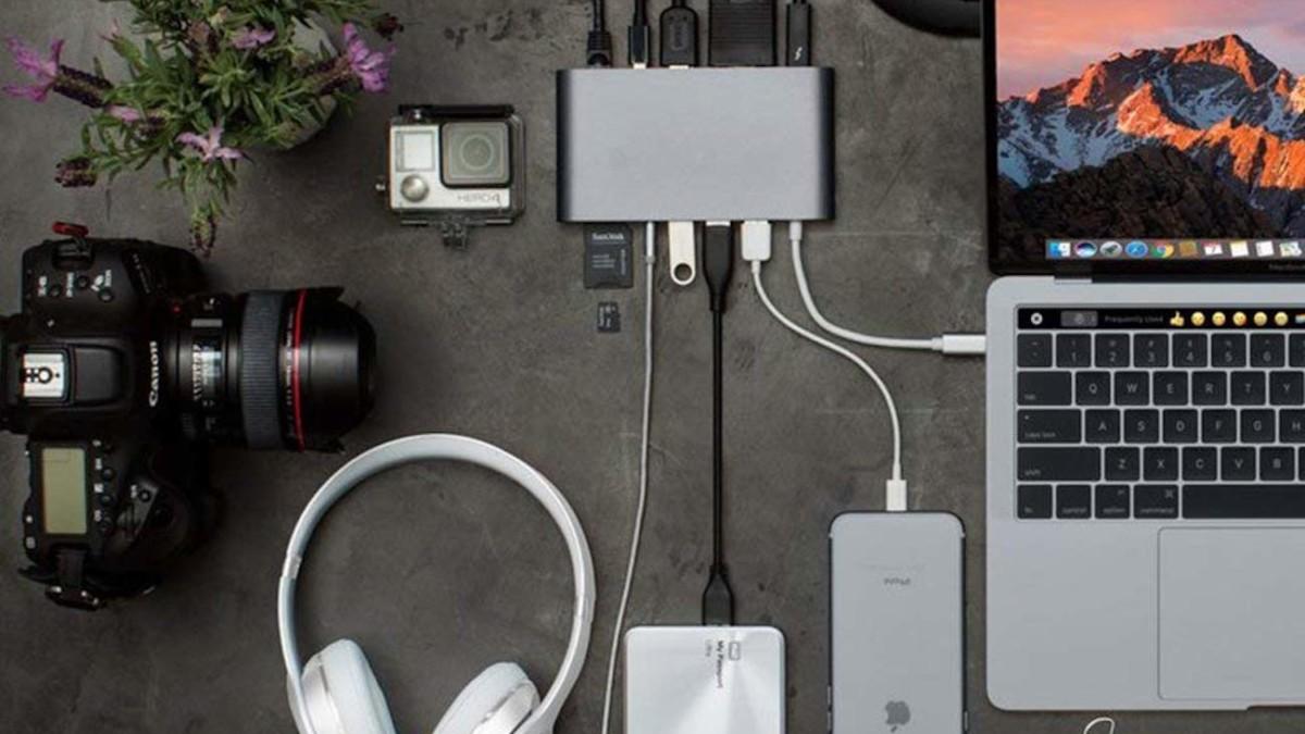 HyperDrive USB-C Hub Mac Adapter