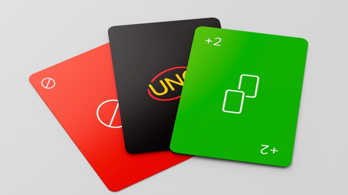 Mattel UNO Minimalista Simple Card Game reimagines a classic deck